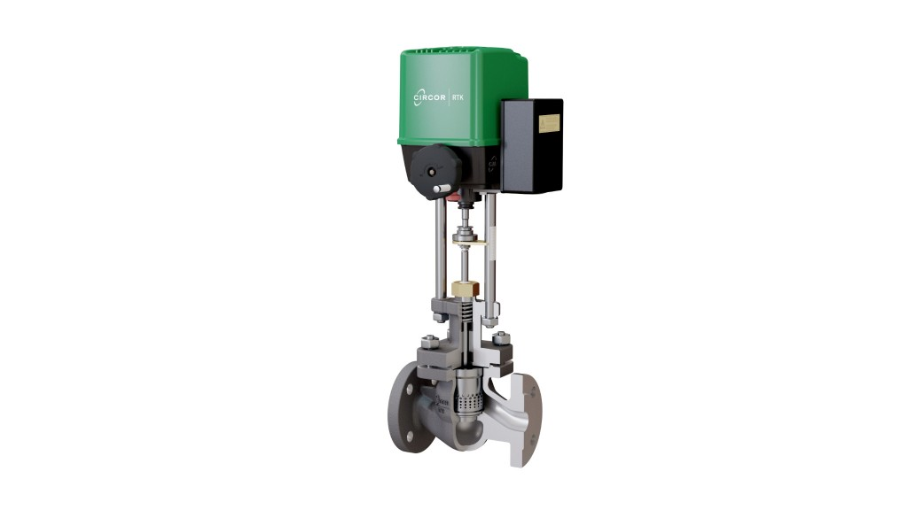 RTK control valve assembles and disassembles in four quick steps