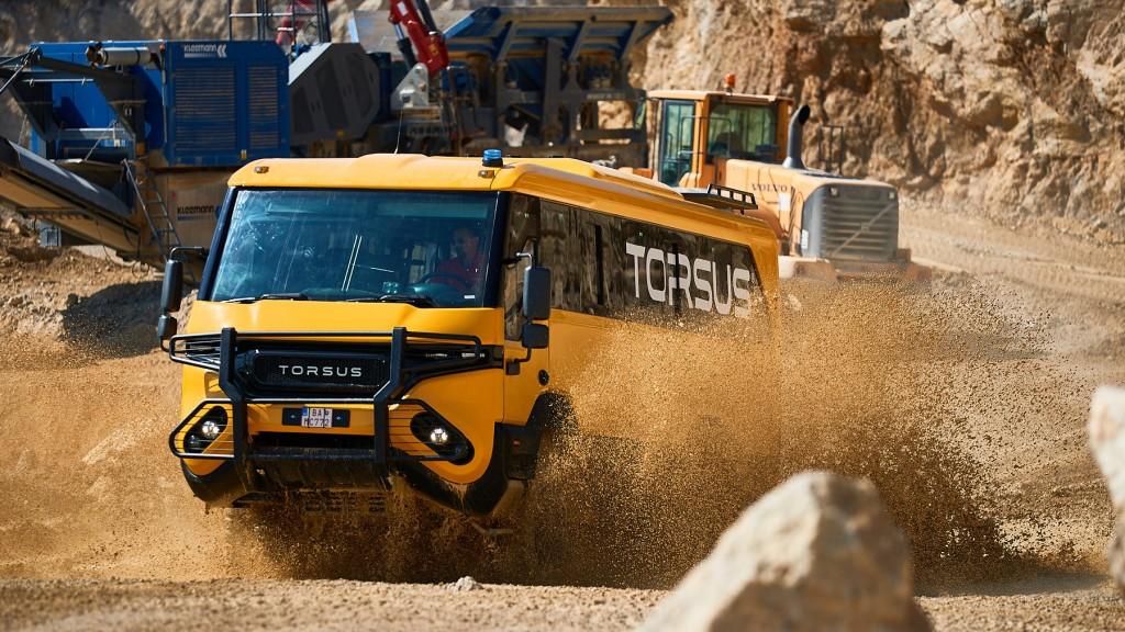 World's first heavy-duty 4x4 off-road crew transport bus earns Torsus Praetorian a Red Dot Award