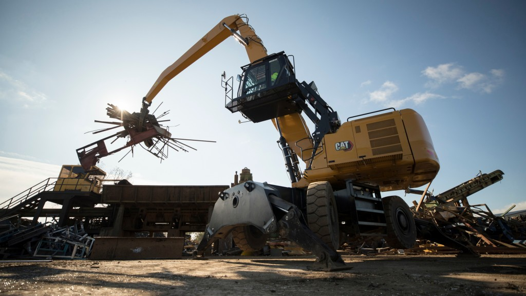 New Cat material handler cuts fuel and maintenance costs for recyclers