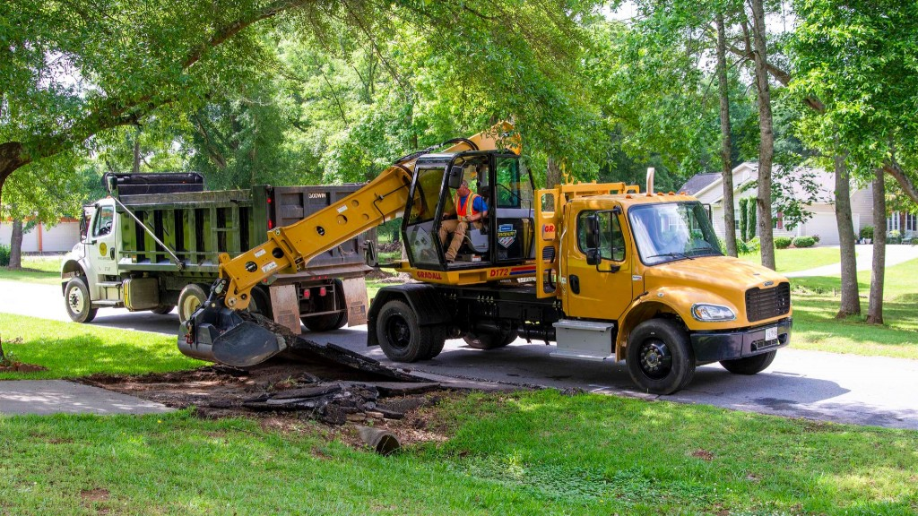 Gradall releases excavators designed for specialty contractors and government needs