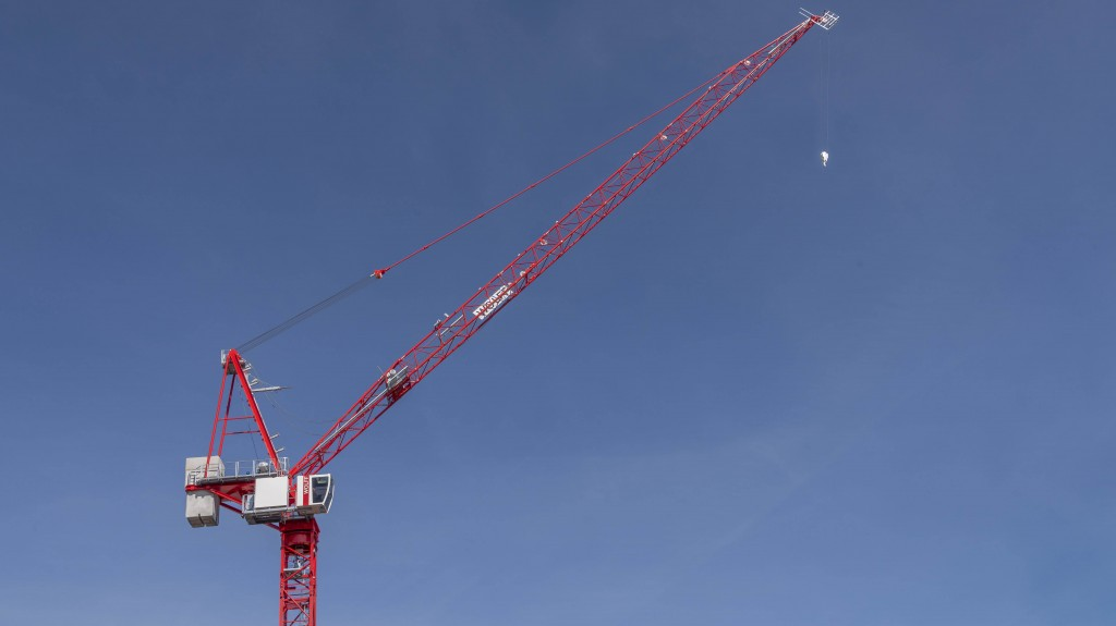 Wolffkran crane increases load capacity by 10 percent