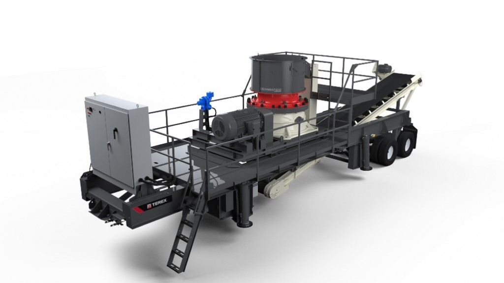 Cedarapids launches all-electric cone crusher plant