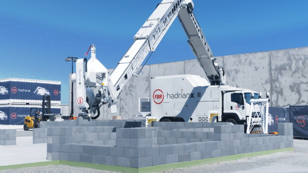 Watch: Hadrian X brick laying construction robot sets new record of placing 200 blocks per hour