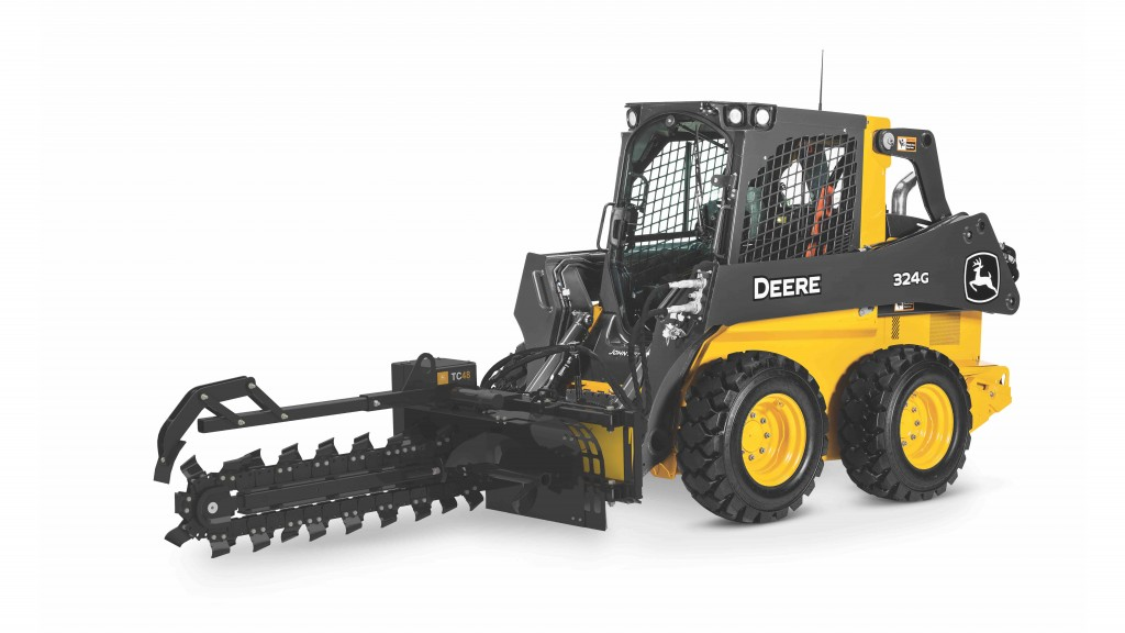 John Deere trenchers latest addition to attachments lineup