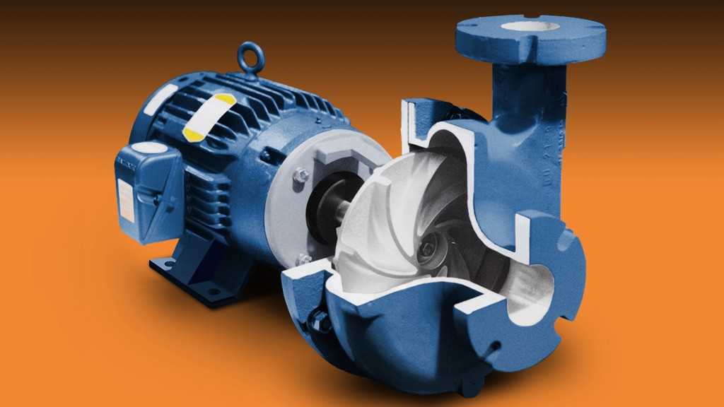 Horizontal close-coupled vortex end-suction pump launched by Vertiflo