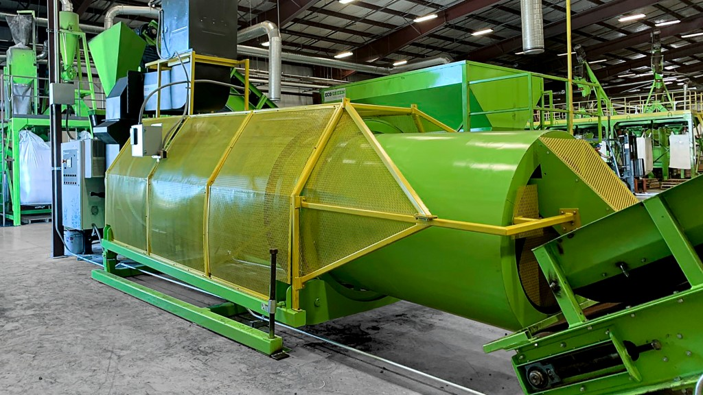 Raising the bar on rubber recovery with new 10,000 pounds per hour colourizer