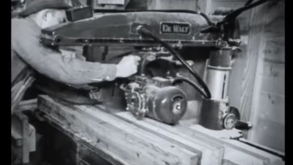 Watch: World War II facilities built in record time using DeWALT saws