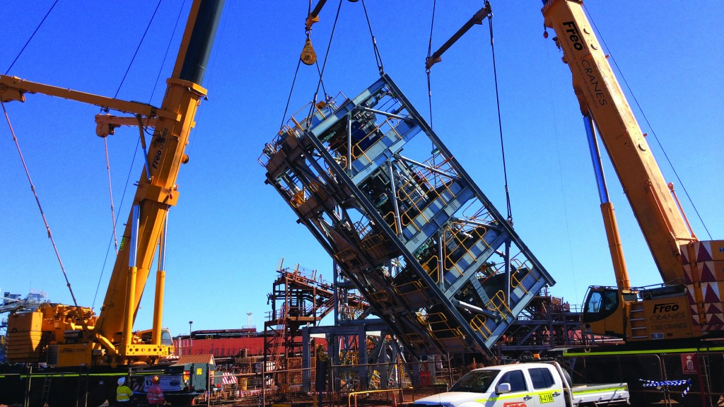 Safety at centre of all-terrain crane transport pilot for owners and operators