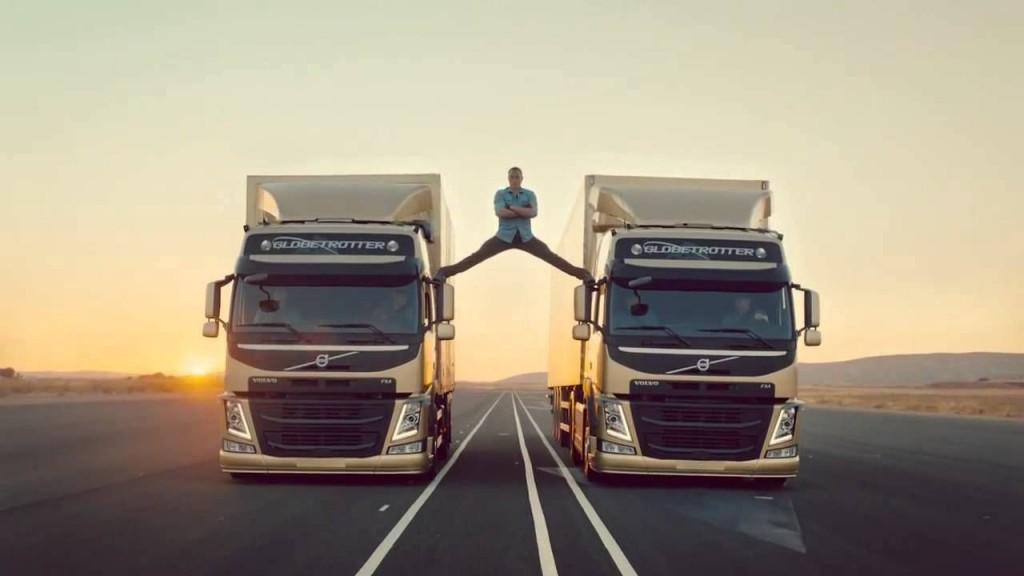 Volvo Trucks' most epic of splits video passes 100 million views