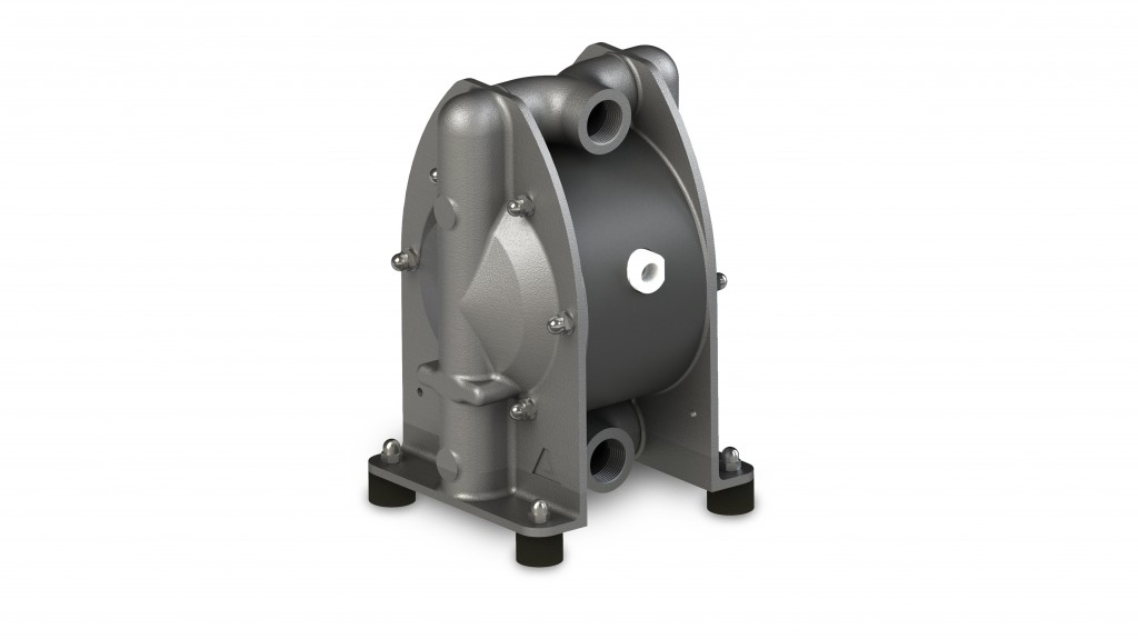 ADX series stainless-steel AODD pumps offer design enhancements