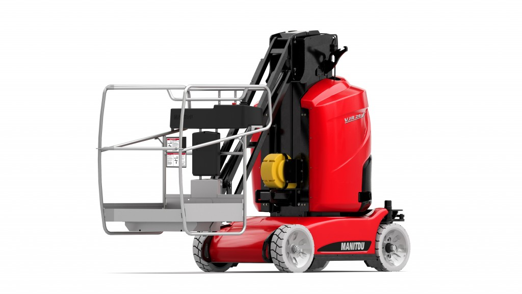 Manitou adds vertical mast mobile elevating work platform to North American product offerings