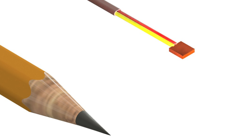 Miniature copper pad thermocouple from Sensor Connection useful in confined spaces