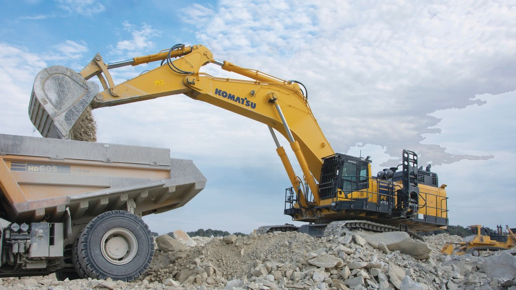 Big power, big production: an in-depth report on production-class excavators