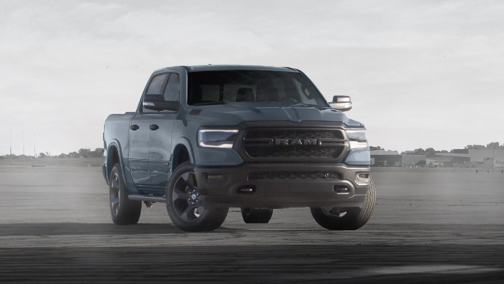 "Ram supports military members with ""Built to Serve Edition"" pickups"
