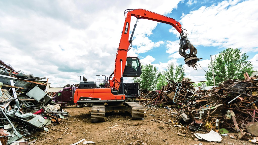 Doubling down on scrap with Doosan at Mryglod Steel and Metals