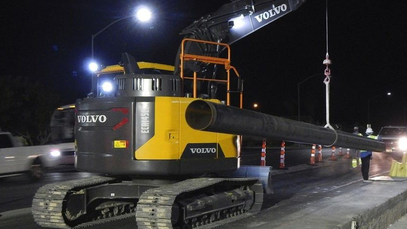 Volvo CE introduces rotating pipelayer conversion kits for 14-ton excavators