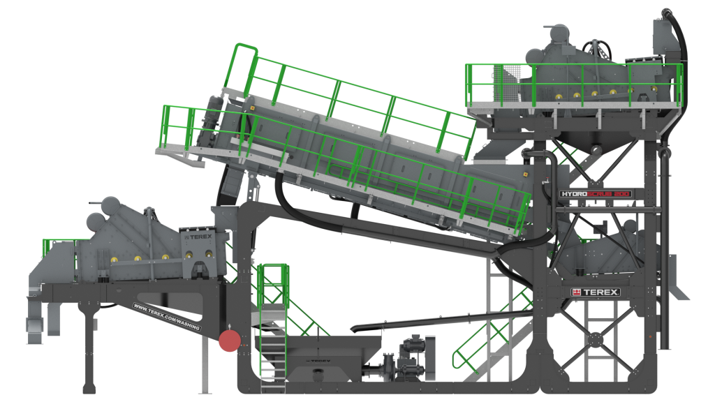 Terex Washing Systems launches HydroScrub 200 for wash recycling applications