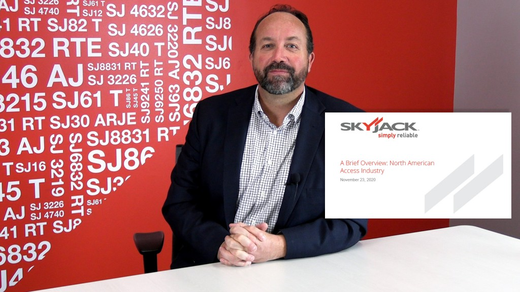 Skyjack president dicusses North American rental market at International Rental Conference