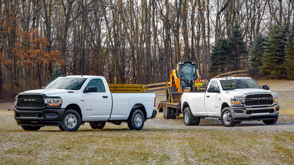 Ram boosts towing capability with 2021 Heavy Duty pickup line
