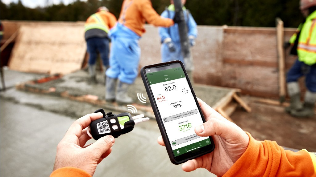 How Giatec's wireless concrete monitoring sensors are keeping construction workers safe during the pandemic