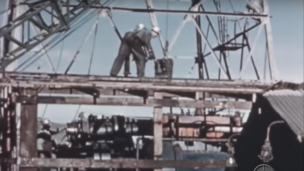 Watch: Shell shows the birth of an oil field in 1940s vintage footage