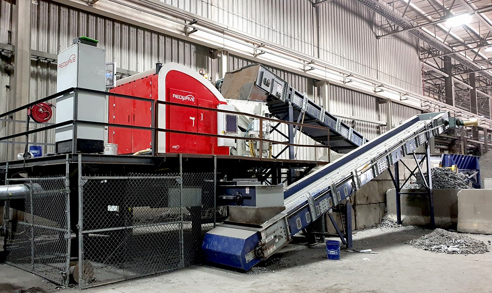 REDWAVE XRF-based sorting technology designed to increase non-ferrous revenue