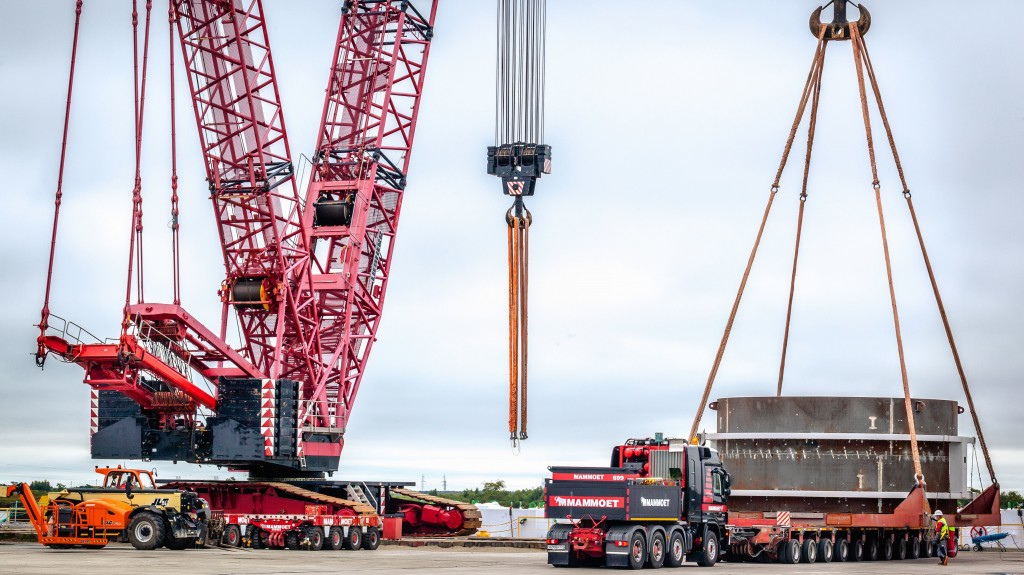 Mammoet delivers cargo to Russian spaceport construction site