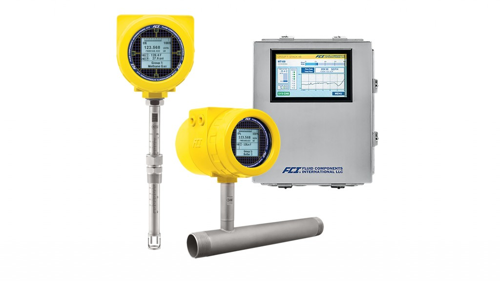 Thermal flow meters from Profibus support range of application