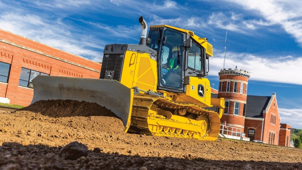 John Deere expands grade management solutions with slope control for K-Series dozers