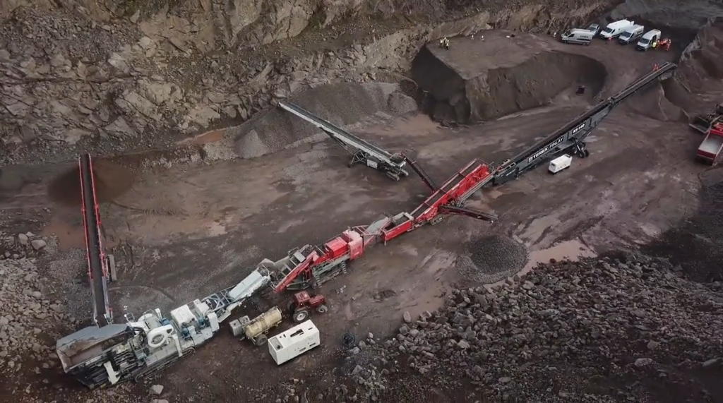 Terex Finlay launches hybrid jaw crusher for large-scale quarry and mining operations