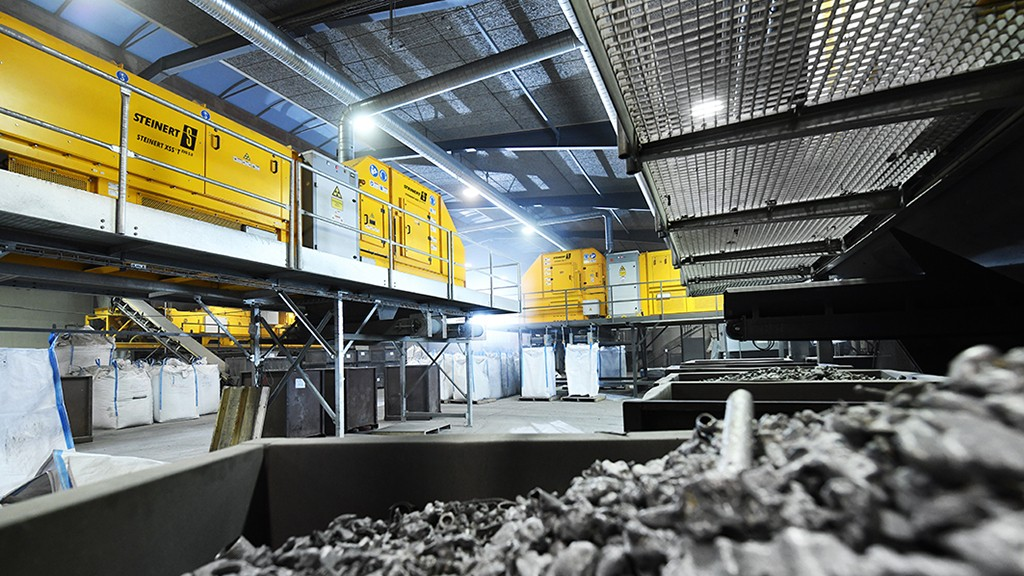 New generation of STEINERT sorters provide more options in scrap and aluminum recycling