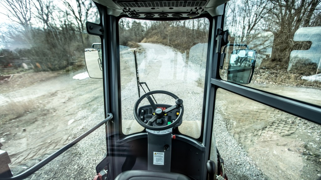 Dynapac soil compactor features new safety cab