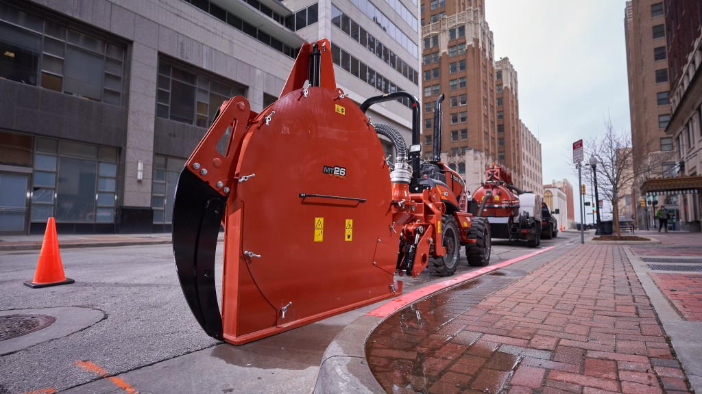 New Ditch Witch microtrencher provides a deeper cut option for fibre job sites