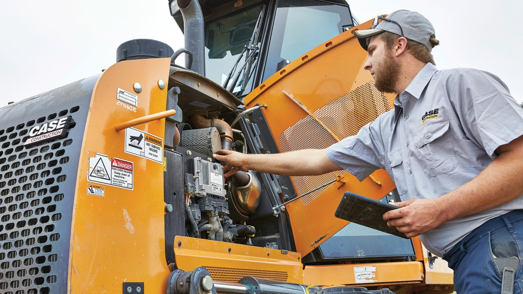 Best practices for managing fluids and filters in heavy equipment