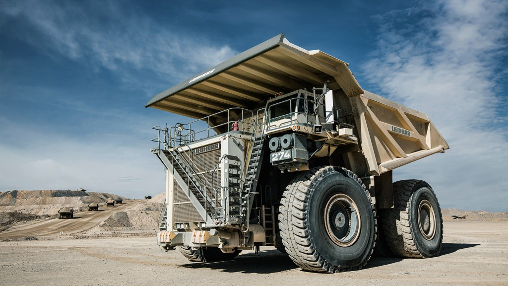 Liebherr releases new 305-tonne mining truck with high production rates, low fuel consumption