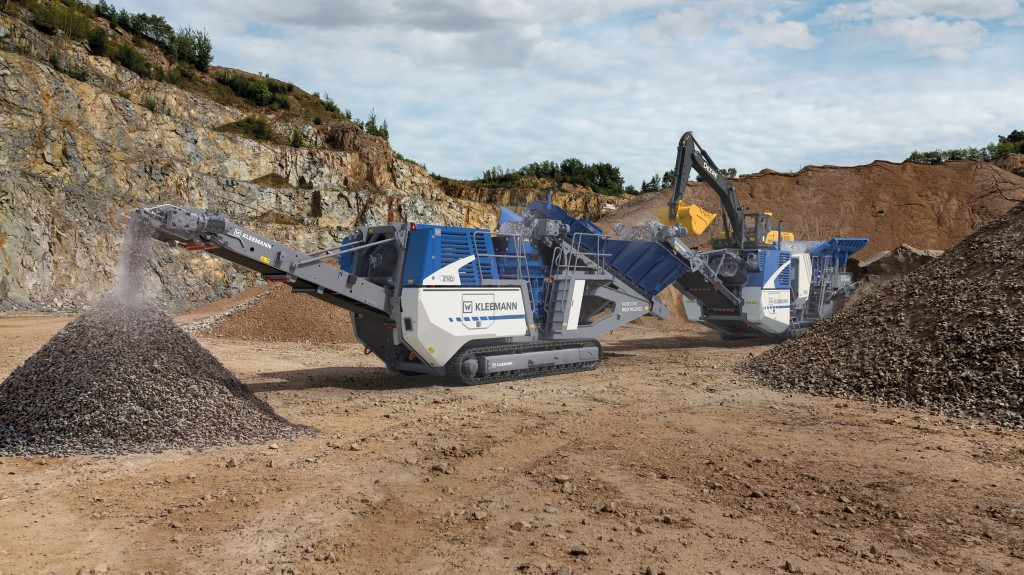 New mobile cone crusher from Kleemann features intelligent controls, lower cost of ownership