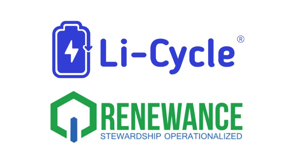Li-Cycle partners with Renewance to expand recycling services for energy storage market