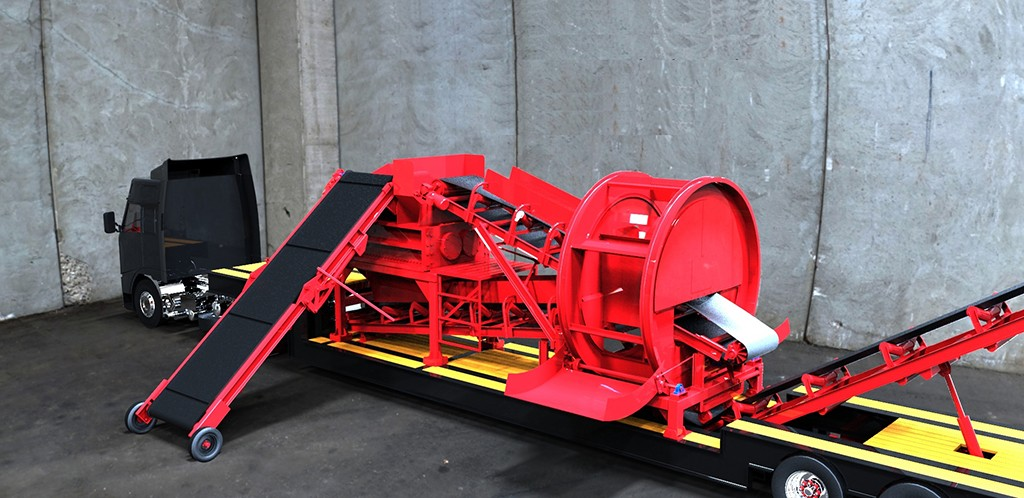 """BCA """"Beast"""" shredder quickly processes high-volume metals, e-waste and tires"""