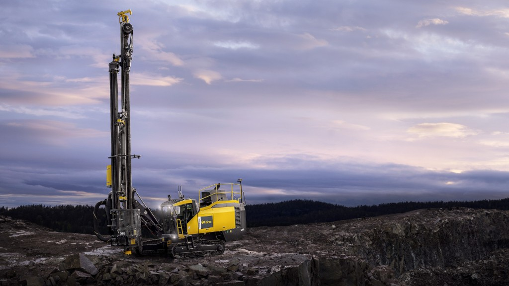 Lighter, faster Epiroc DTH hammers improve drilling speed