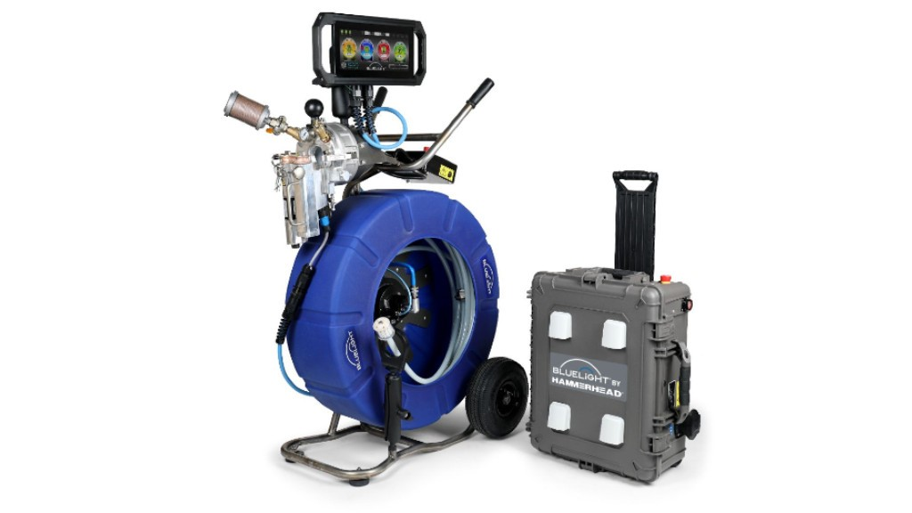 HammerHead Trenchless releases redesigned bluelight LED cured-in-place pipe lining system