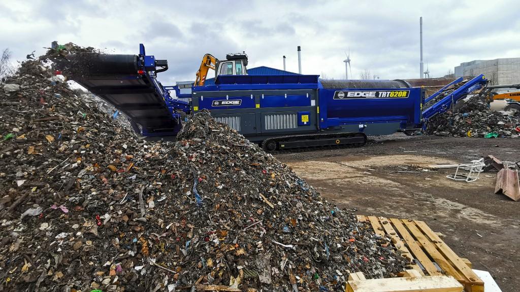 EDGE Innovate's new 620-class trommel provides screening efficiency for organics waste