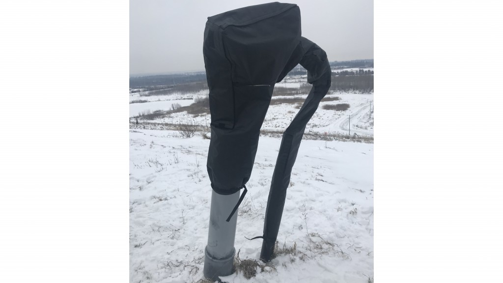 PolarGuard insulating wellhead cover protects from sub-zero temperatures