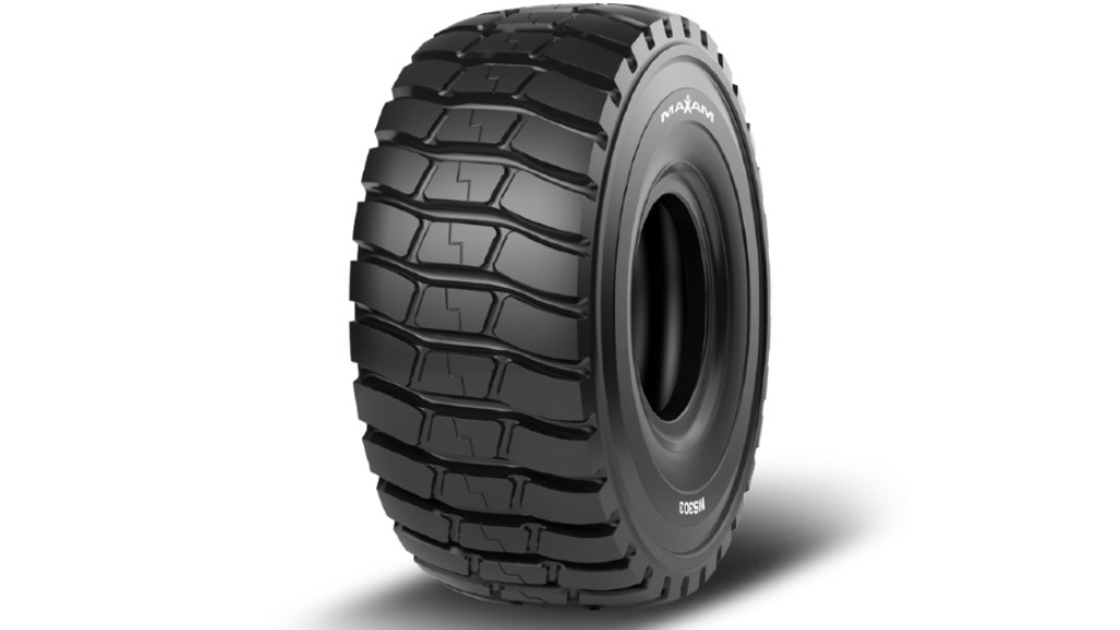 MAXAM Tire adds high-traction scraper tire to OTR product lineup