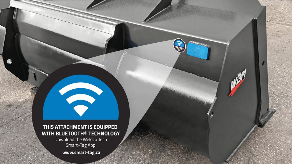 Weldco-Beales introduces Bluetooth Smart-Tag technology for tracking attachments