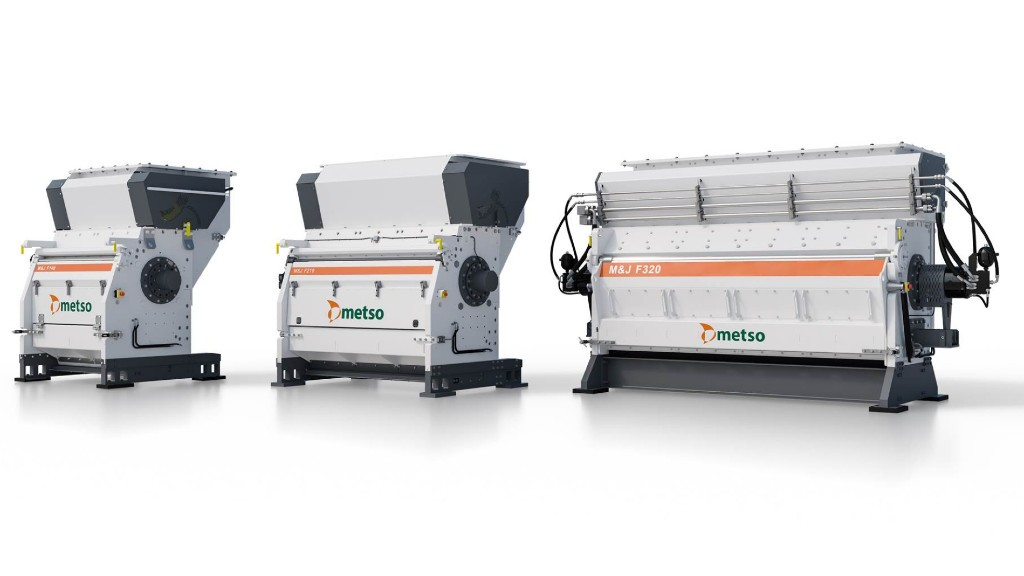 FineShredder series from Metso Outotec built to take on RDF and SRF