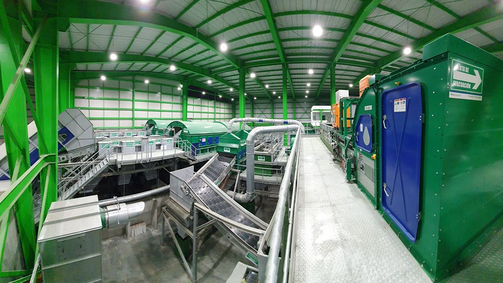 Largest sorting plant in Latin America is up and running in Mexico City