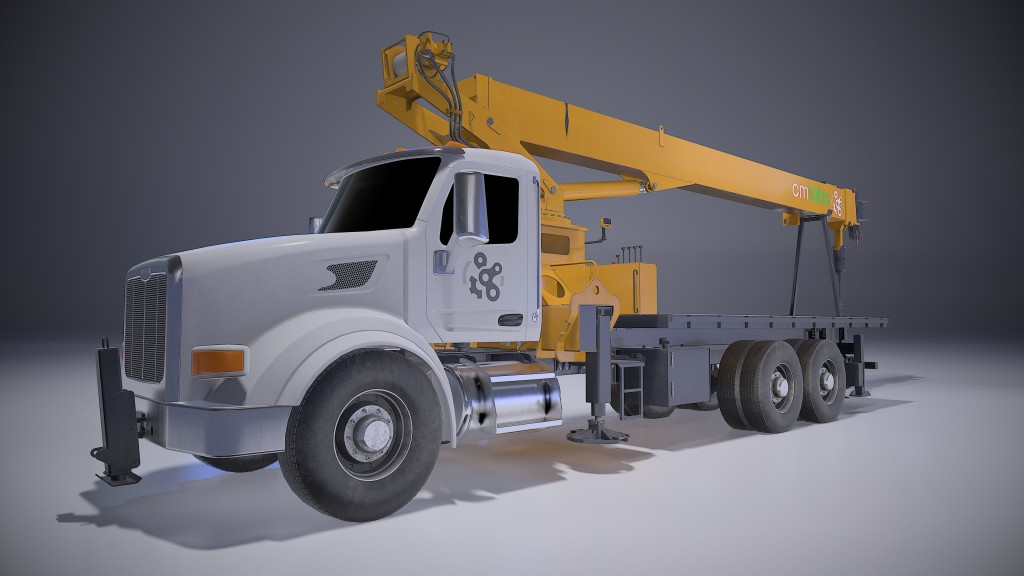 Boom truck simulator the centrepiece for CM Labs at Utility Expo