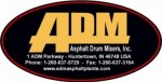 Asphalt Drum Mixers, Inc. Logo