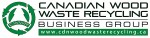 Canadian Wood Waste Recycling Business Group Logo