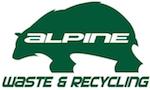Alpine Waste & Recycling Logo